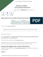 ESTADOS PARA CORREGIR Errores en el Registro de Compras Electrónico - Noticiero Contable.pdf