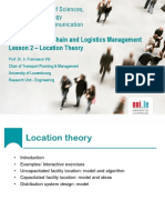 Lesson 3 - location theory 2015