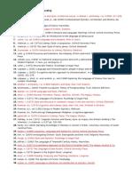Bibliography Stylistics & Foregrounding