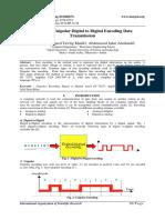 Method of Unipolar Digital to Digital Encoding Data Transmission.pdf