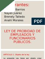 LEY DE PROBIDAD DE EMPLEADOS Y FUNCIONARIOS PUBLICOS.pptx