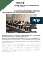 Accords de libre-échange_ un échec, selon la majorité des industriels.pdf