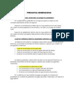 PREGUNTAS GENERADORAS No 1