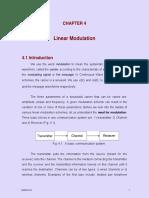 Linear Modulation( Communication Engineering)