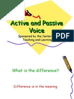 Active and Passive Voice sentences