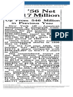 News Article Omaha World-Herald Published as Omaha World-Herald. January 11 1957 p38