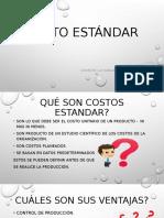 COSTO ESTANDAR UNIDAD 6