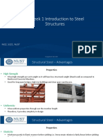 Week - 1, Introduction to Steel Structures, Part 1