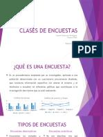 CLASES DE ENCUESTAS