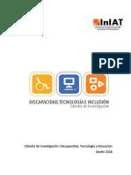 Caìtedra de Investigacioìn Discapacidad Tecnologiìa e Inclusioìn