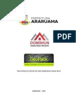 Relatório de Dados Da Obra - Pier Araruama-praia Seca