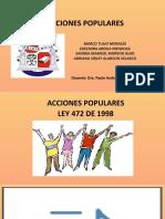 EXPOSICION ACCIONES POPULARES