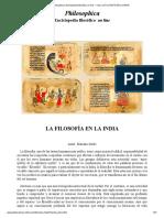 Philosophica_ Enciclopedia filosófica on line — Voz_ LA FILOSOFÍA EN LA INDIA