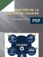 Organización de la función de calidad