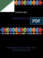 PKPD 2 Kesehatan gigi