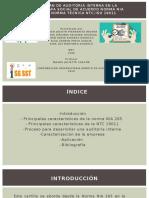 Cartilla plan de auditoria interna   NIA 265 Y NTC-ISO 19011 COMPLETA