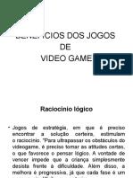 BENEFÍCIOS DOS JOGOS DE VIDEO GAMES