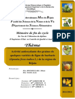 Activité antioxydante des graines de quelques variétés de figue de barbarie (Opuntia ficus-indica L.) de la région de Béjaia.pdf
