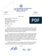 DeFazio and Titus letter