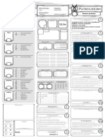 DnD 5e - Ficha - Patrulheiro - Editável