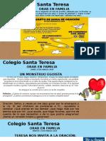 MOMENTOS DE ORACIÓN  COLEGIO SANTA TERESA ILLAPEL