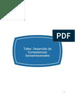 Taller Desarrollo de Competencias Socioemocionales