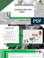ORGANIZACIÓN TIPO STAFF