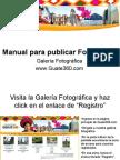 Manual para publicar Fotografías en Guate360.com