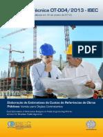 OT-004_2013 - IBEC - Elaboração de Estimativas de Custo de Referência de Obras Públicas.pdf