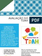 Avaliação do TDAH