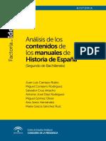 ANALISIS MANUALES Hº ESPAÑA