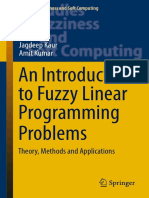 [Studies in Fuzziness and Soft Computing 340] Jagdeep Kaur, Amit Kumar (Auth.) - An Introduction to Fuzzy Linear Programming Problems_ Theory, Methods and Applications (2016, Springer International Publishing)