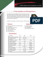 EDFA Erbium Yterbium Doped Fiber Amplifier CATV OAB-C-EY R4