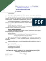 NORMAS DE CAPACITACION