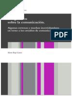 P. 1 Rizo García,M., Imaginarios sobre la comunicación (selección)