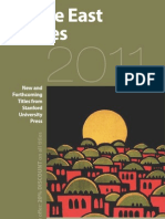 Middle East Studies 2011