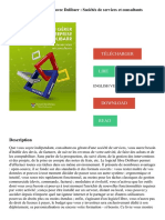 Bien gérer son entreprise avec Dolibarr _ Sociétés de services et consultants Télécharger, Lire PDF