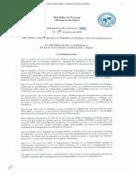 Decreto Ejecutivo 490 de 2020 (toque de queda)