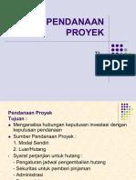 Pendanaan Proyek