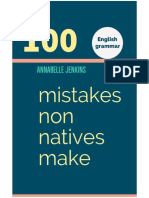 Inglés - Annabelle J. - 100 Mistakes non Natives Make.pdf