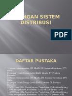 Jaringan Sistem Distribusi