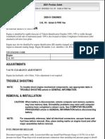 [PONTIAC] Manual de Taller Armado y Desarmado Motor Pontiac Aztek 2001 Ingles