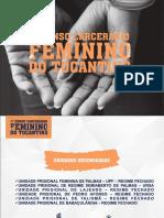 1º Censo Carcerário Feminino do Tocantins