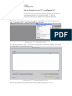 Como crear un Sitio en Dreamweaver CC y configurarlo