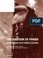 ABENSOUR, Miguel; CLASTRES, Pierre - The Question of Power - An Interview with Pierre Clastres - Semiotext(e) (2016).pdf