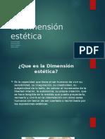La dimensión estética.pptx