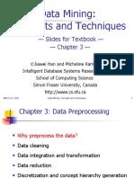 Pertemuan 3 Data Prepocessing