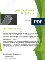 Hymenolepis nana y H. diminuta