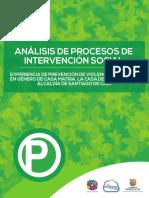 ANÁLISIS DE PROCESOS DE INTERVENCIÓN SOCIAL