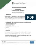 EV. DISTANCIA DEL ESPACIO ACADÉMICO-INVESTIGACIÓN III-2-2017